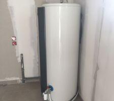 Mise en place du CETD chauffe eau thermodynamique