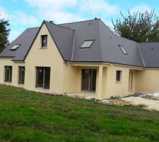 notre maison de vieux en normandie