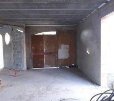 Garage et entrée