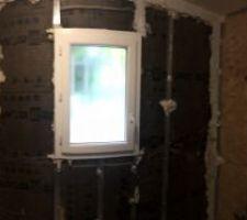Un petit week-end plus tard la démolition est quasi fini pour les murs