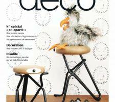 Reportage sur notre maison dans un magazine deco :)