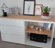 Customisation de ma commode MALM d'IKEA