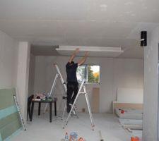 Faux plafond Îlot centrale