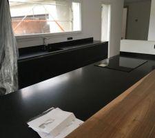 Plan de travail Granit noir