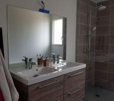 Miroir de salle de bain posé