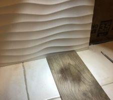 Effet de lumière pour voir la texture