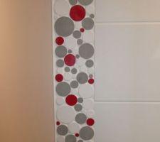 Salle de bain (étage) - vue de la frise de chez BatiOrient