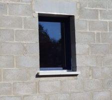 Fenêtre cuisine pignon ouest