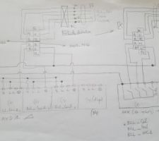Schéma de cablage (actionneur KNX de marque MDT)