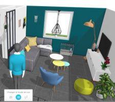 Inspiration salon avec HomeByMe