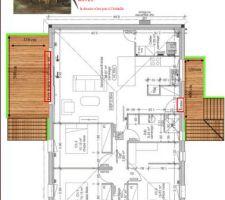 Le premier projet terrasses datant du mois de mai