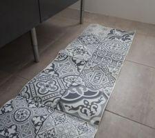 Sticker imitation carreau de ciment