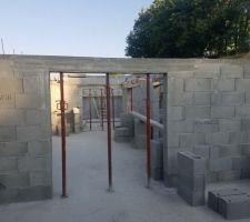 Murs du sous sol
