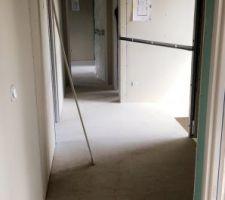 Vue du couloir étage