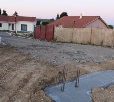 Chemin d'accès chantier