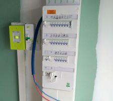 Raccordement et pose du compteur électrique