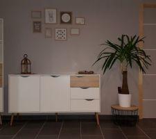 Nouveau meuble But de la gamme OSLO. 3eme essai retenu !