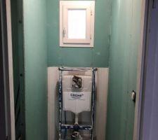 Placo toilette