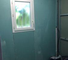 Placo salle d eau