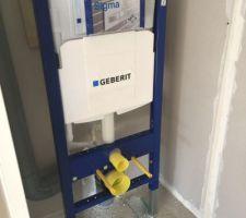 Bati support geberit des 2 wc