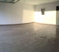 Garage terminé enfin !
