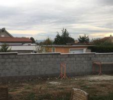 Mur de séparation