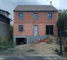 Installation des fenêtres et portes-fênetres