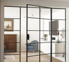 Nouvelle idée de porte vitrée