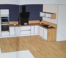 Plan de notre futur cuisine