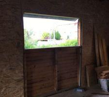 Préparation des cadres de fenêtre