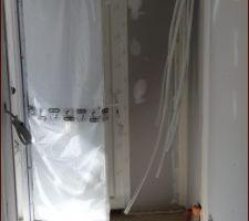 Porte intérieur blanche pré peinte