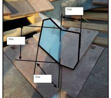 Dimensions et forme du noquet de base