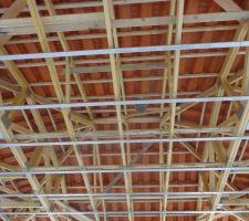 Dernière etape : la charpente et la toiture