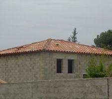 Le toit à quatre pentes