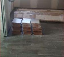 Chambre parentale en cours.... Les meubles du Dressing seront posés prochainement par Dress'ko