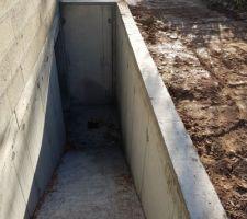 Rampe d accès sous sol - c est vraiment trop raide!!