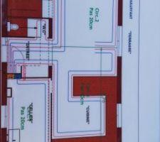Plan circuit chauffage au sol