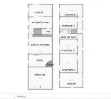 Plan original + etage