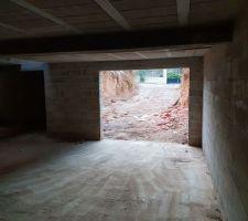 Sous sol sans les etaies