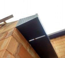 Charpente et caches moineaux garage terminés