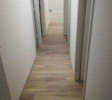 Couloir, lames pvc clipsables GERFLOR