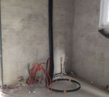 Plomberie chauffage en cours