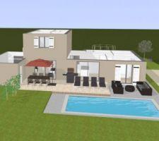 Vue 3D sans toit (par manque de maîtrise du logiciel...)
