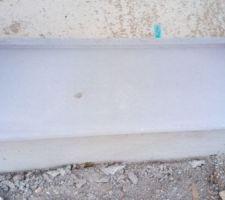 Seuil de porte différent des appuis de fenêtre