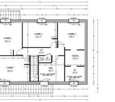 La version définitive du plan de l'étage. Il y aura éventuellement des changements minimes à l'issue du MAP.