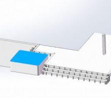 Plan du projet de terrasse + spa