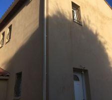 Gouttières vue façade sud ouest