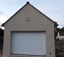 Façade garage ...et notre cadran solaire ??