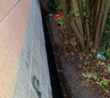 31/10/18: 4 grilles d'aération dans le sous-sol