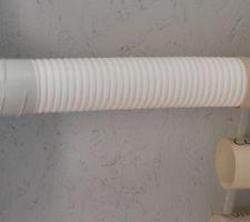 Un autre exemple de longueur : la gaine est introduite à fond avec son joint.